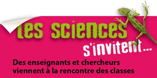 Les sciences s'invitent : des enseignants et des chercheurs viennent à la rencontre des classes