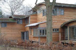 la maison bois bioclimatique passive espace mend s france culture m diation scientifiques. Black Bedroom Furniture Sets. Home Design Ideas