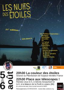 nuits des étoiles 2011