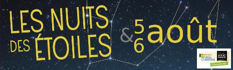 Les nuits des étoiles en Poitou Charentes