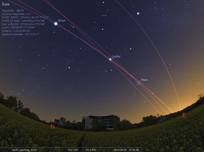 Programmation astronomie de décembre 2011