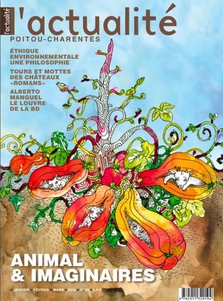 Parution de L'Actualité Poitou-Charentes n°95 — Animal & imaginaires