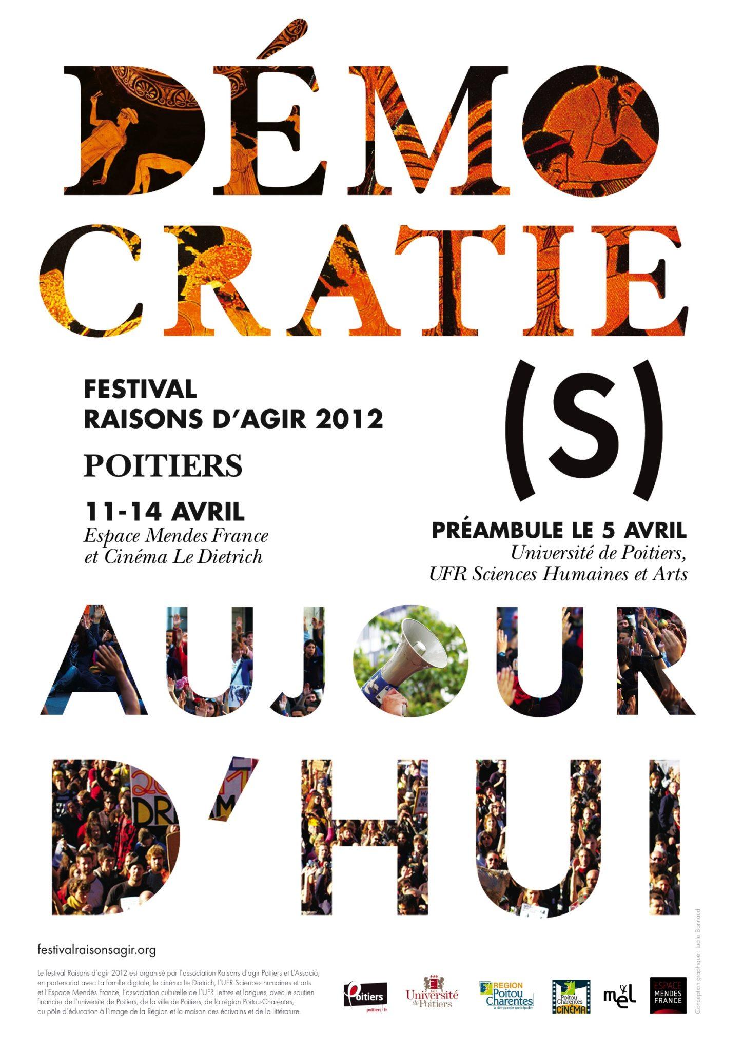 Festival Raisons d'agir 2012 : «Démocratie(s) aujourd'hui»