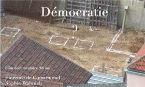 «Démocratie ?» de Florence de Comarmond