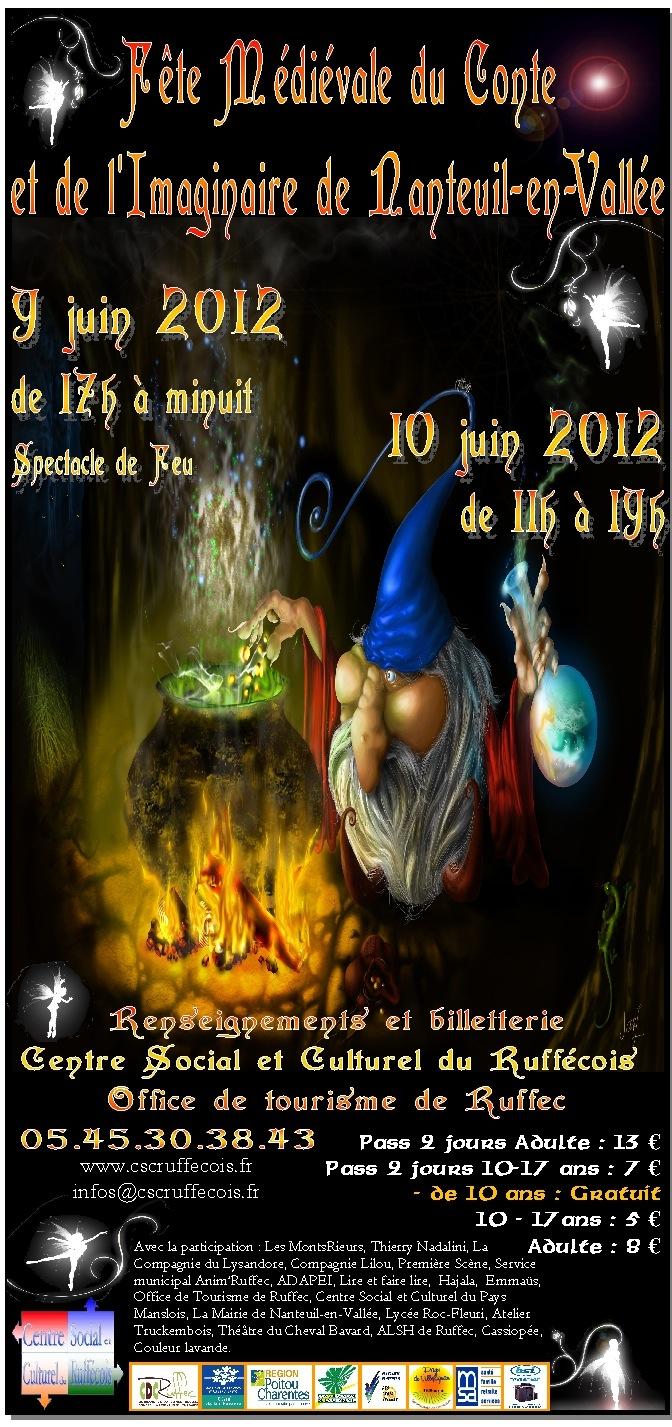 Fête médiévale du conte et de l'imaginaire 2012