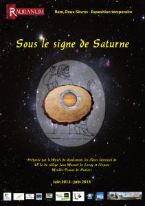 Sous le signe de Saturne