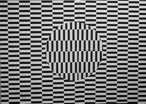 Illusion d optique mon il espace mend s france culture m diation scientifiques - Illusion optique dessin ...