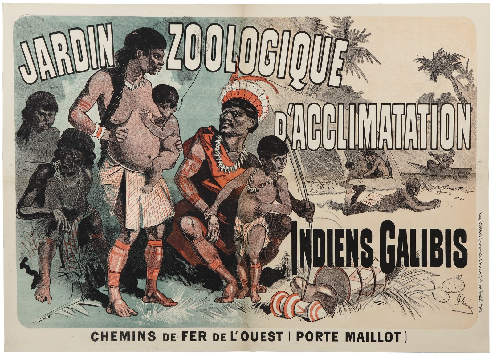 Les Zoos humains : exhiber l'autre