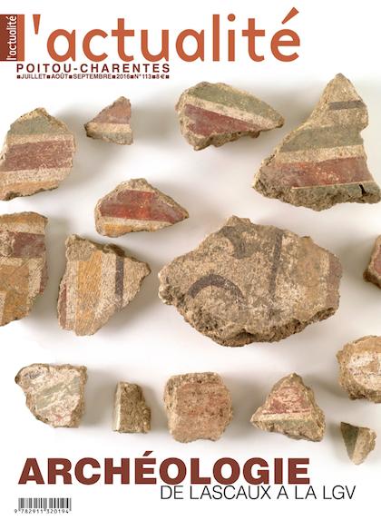 L'Actualité Poitou-Charentes n°113 – spécial «Archéologie»
