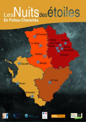 Les 22e nuits des étoiles ont été un succès à Poitiers !
