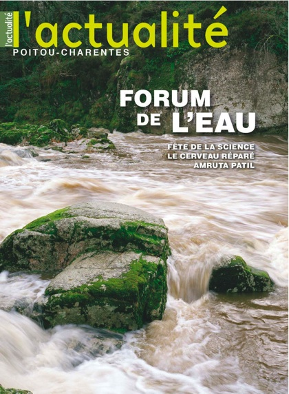 L'Actualité Poitou-Charentes n°98 : Forum eau, Fête de la science, le cerveau réparé, Amruta Patil