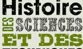 Parution du programme 2012-2013 des conférences d'histoire des sciences et des techniques, et d'histoire des sciences de l'homme