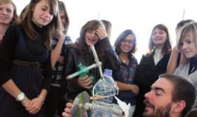 Opération Les jeunes et la science avec les 5e et 4e du Collège de Montmoreau Saint-Cybard
