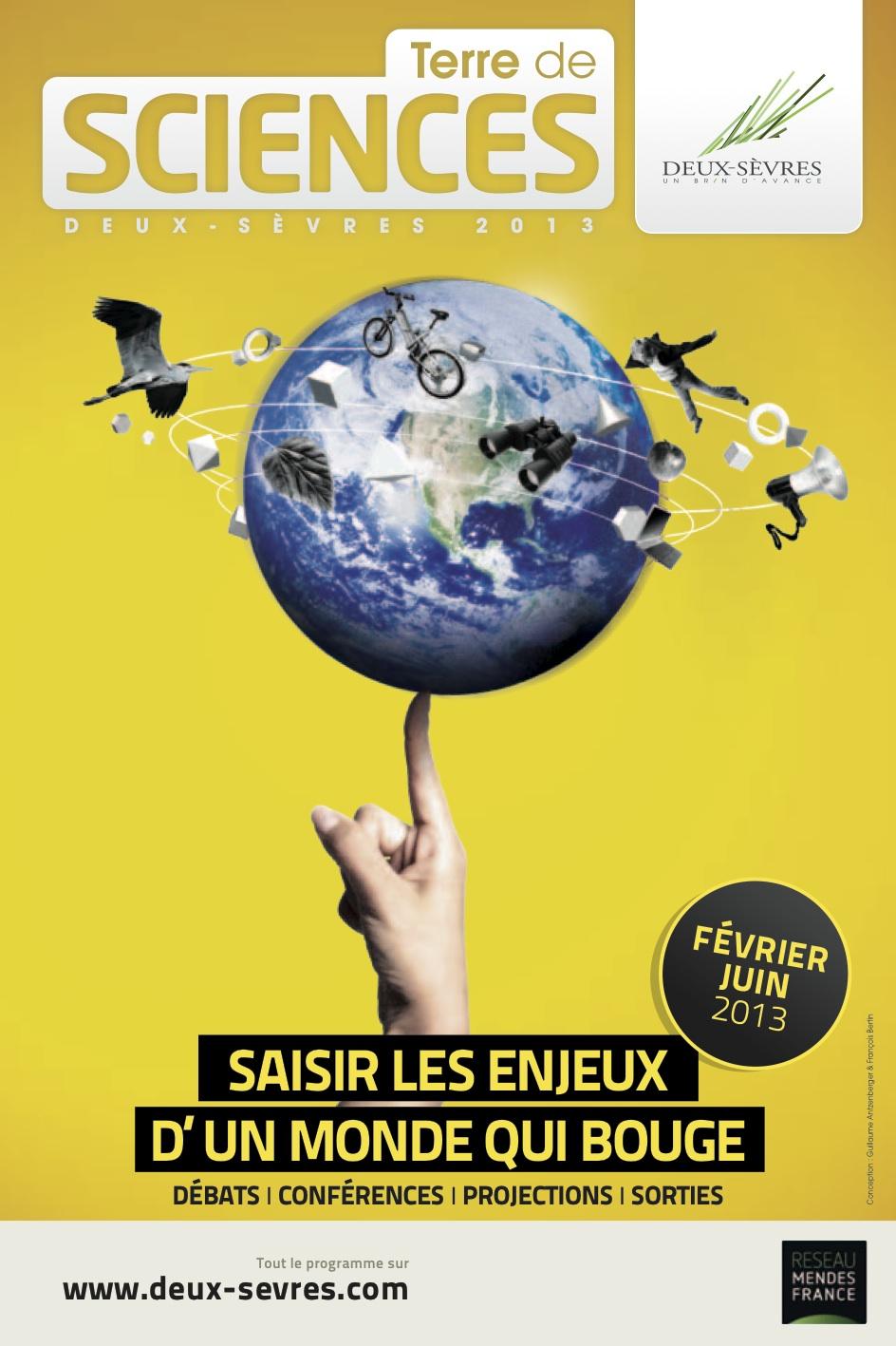 Programme «Terre de sciences» février – juin 2013