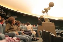 Lundi 18 février | séance de planétarium à 17h
