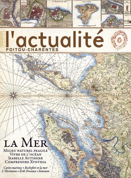 Sortie de L'Actualité Poitou-Charentes n°89 – été 2010 – spécial Mer