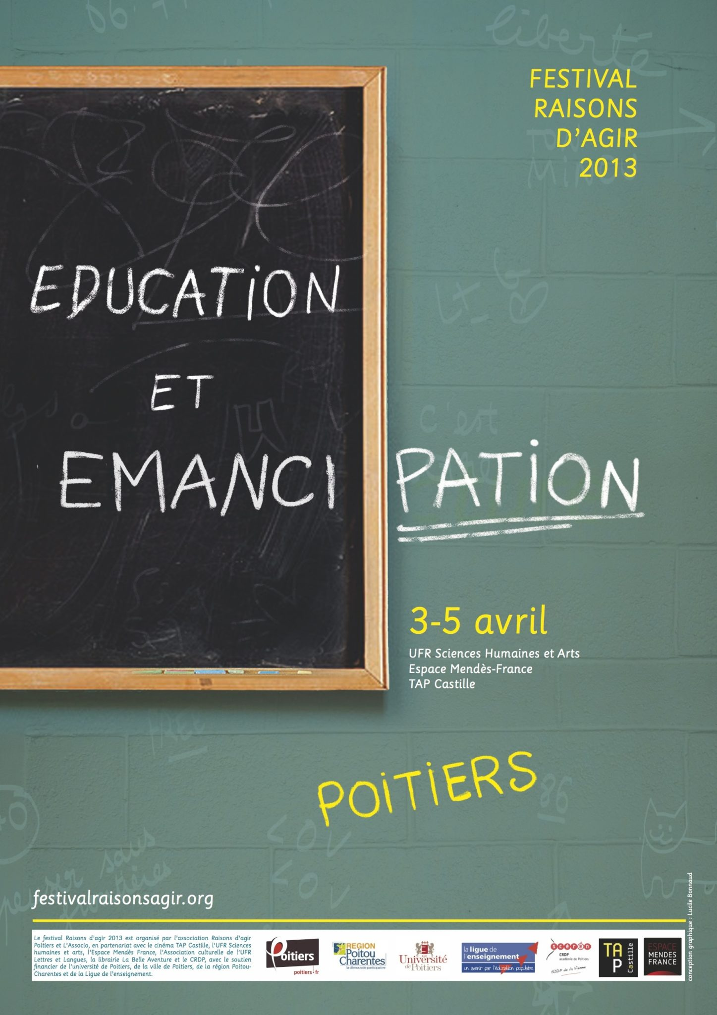 Affiche de la huitième édition du festival