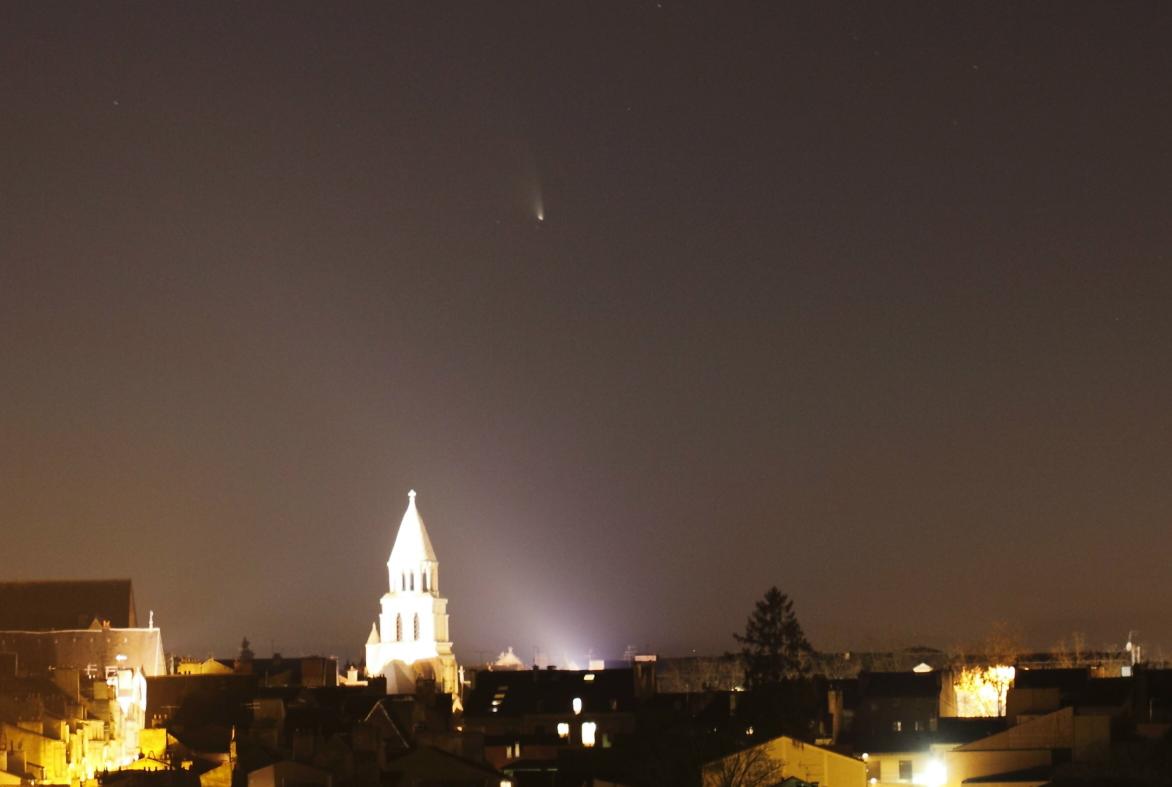 La comète PanStarrs au dessus de Poitiers