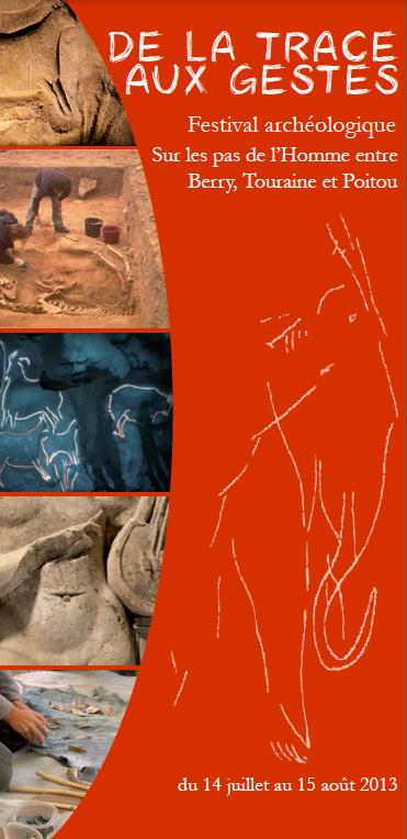 De la trace aux gestes, festival archéologique