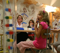 Ateliers scientifiques de l'école de l'ADN