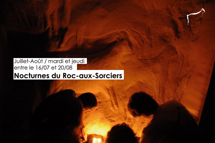 Visites nocturnes du Roc-aux-Sorciers