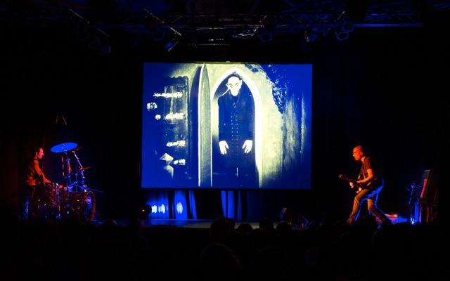 Ciné-concert «Nosferatu le vampire » avec Serge Teyssot-Gay et Cyril Bilbeaud