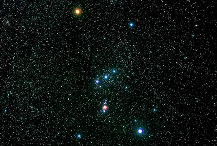 Pendant les vacances de Noël   Les étoiles Orion