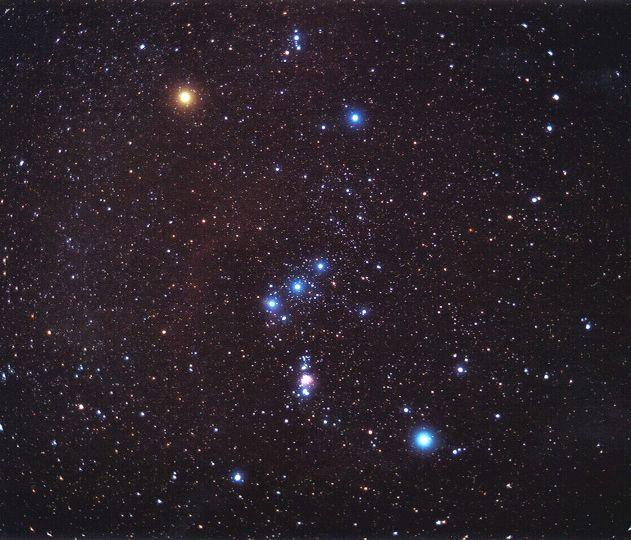 Spectacle d'astronomie «Les étoiles d'Orion»