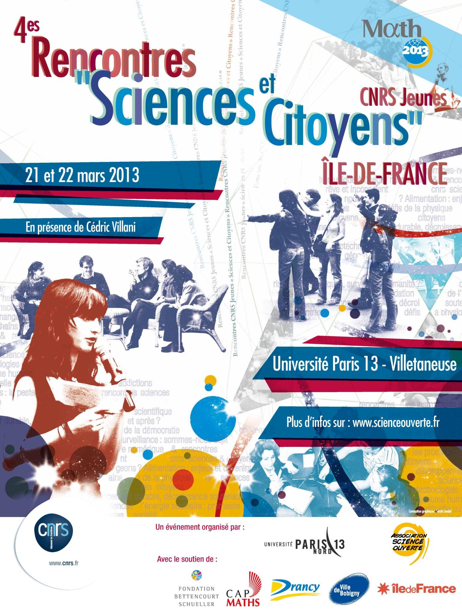 Rencontres CNRS «Sciences et Citoyens»