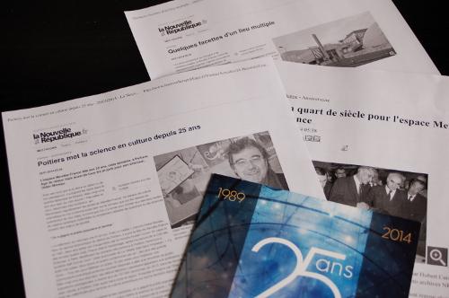 25 ans de l'Espace Mendès France : La presse en parle…