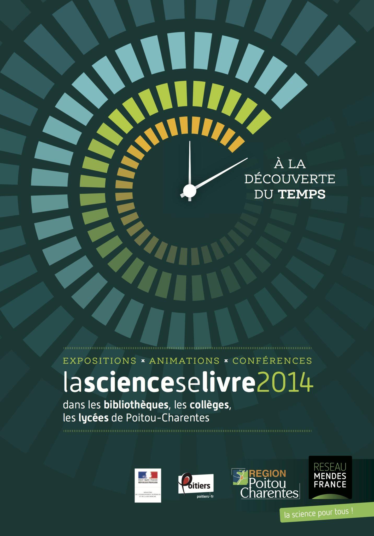 Programme de La science se livre 2014 : Le temps