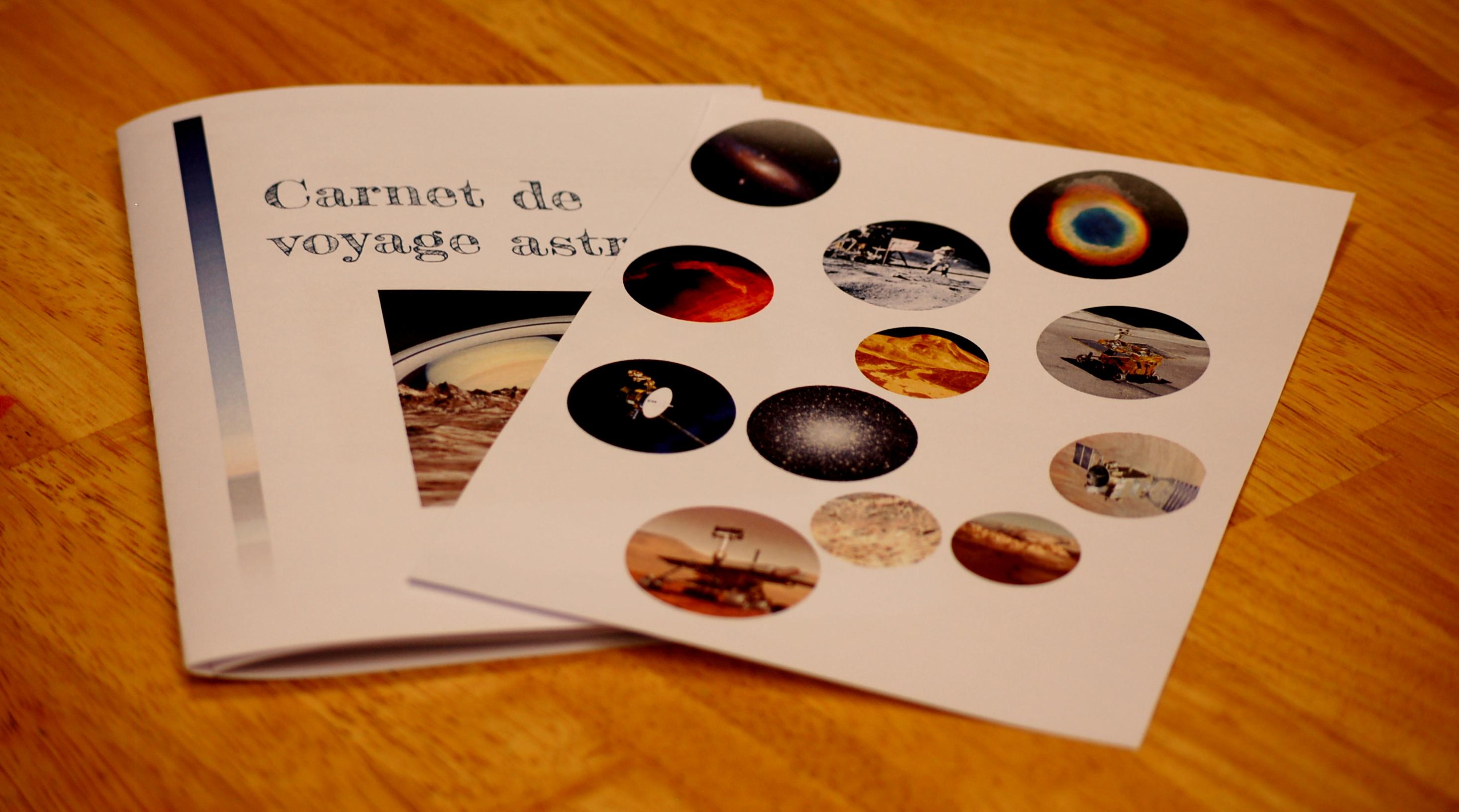 Carnet de voyage astronomique