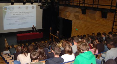 Journée de découverte scientifique le 13 mai – les lycéens du LISA à Poitiers