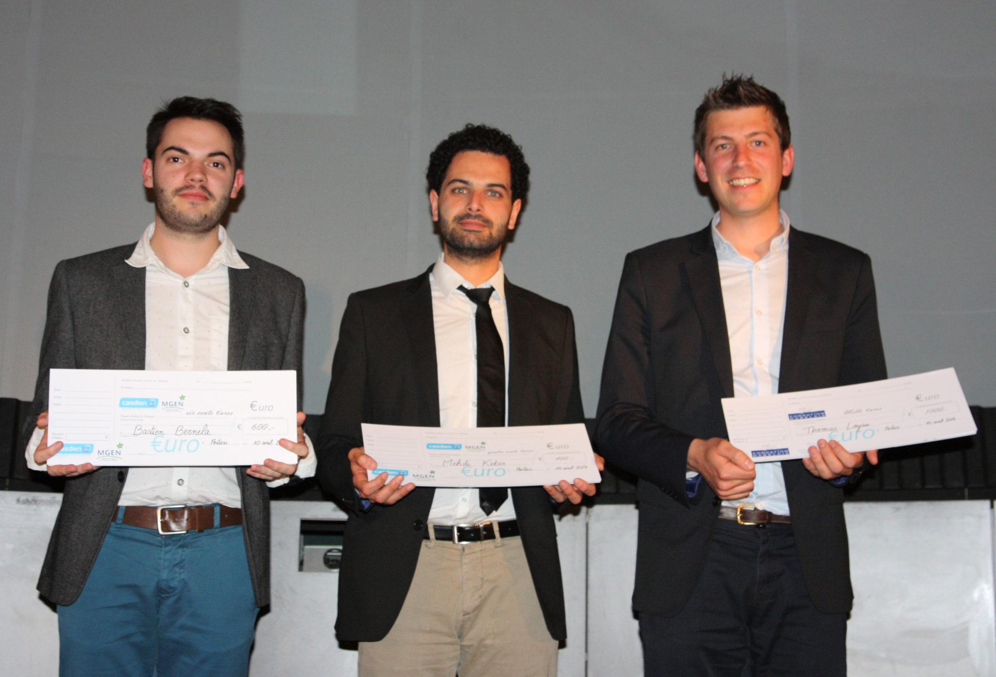 Les gagnants de la finale interrégionale du concours «Ma thèse en 180 secondes»
