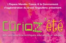 Les Curioz'été de l'Ecopôle à Angoulême