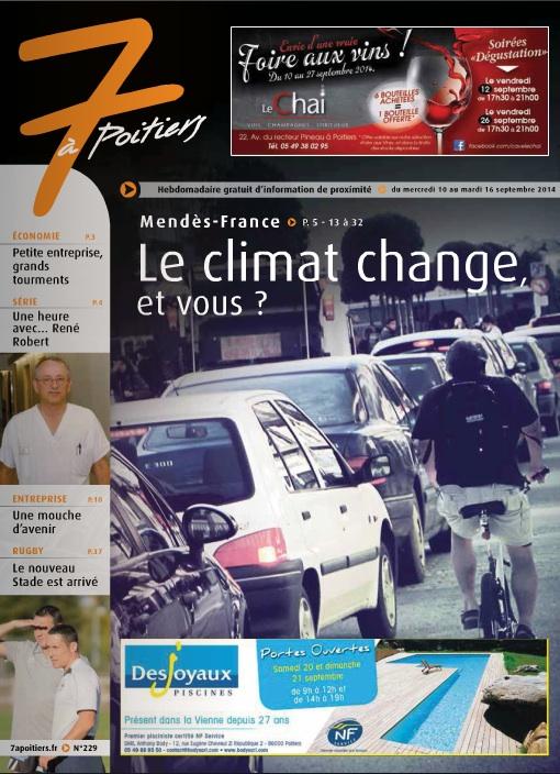 Le programme de l'EMF dans le 7 à Poitiers du 9 septembre