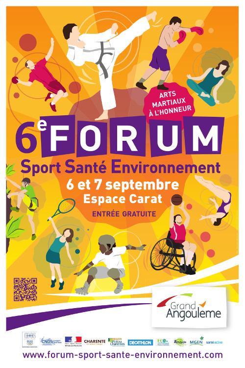 L'EMF au Forum Sport, santé et environnement – Isle-d'Espagnac