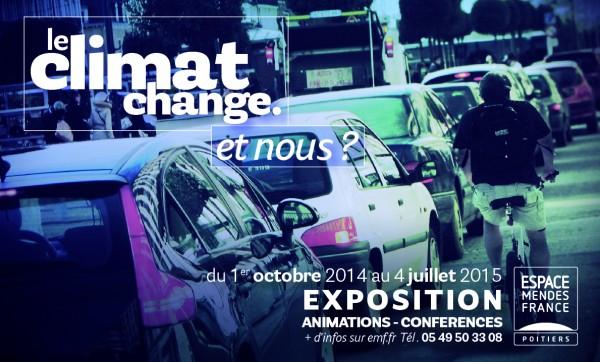 Fermeture exceptionnelle de l'exposition « Le climat change. Et nous ? »
