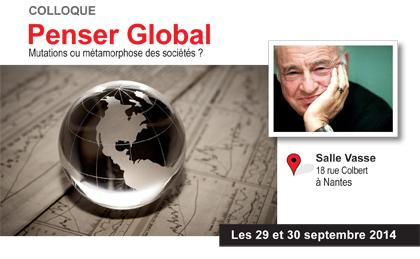 Colloque international «Penser global» – Université de Nantes