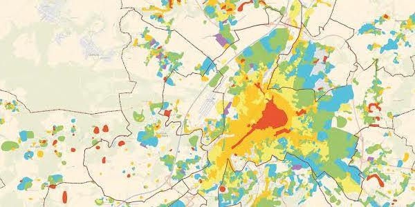 Retrouvez en ligne l'exposition Grand Poitiers SIG: la nouvelle cartographie