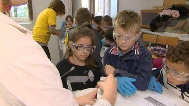 Plus de 900 élèves à l'ESPE d'Angoulême pour la Fête de la science