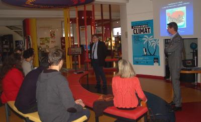 Le lycée Haut Val de Sèvre (79) au forum climat