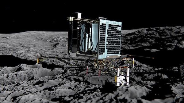 Suivez l'expédition Rosetta en direct au Planétarium, Philae se pose sur la comète Churyumov-Gerasimenko