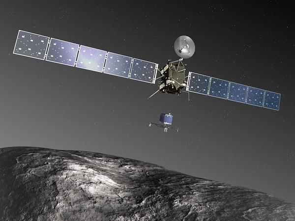Les comètes et la sonde Rosetta