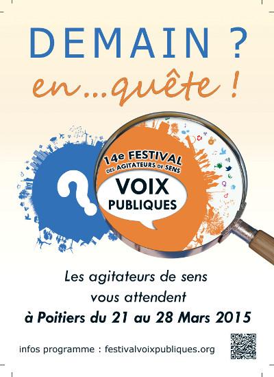 Festival Voix publiques – 21 au 28 mars