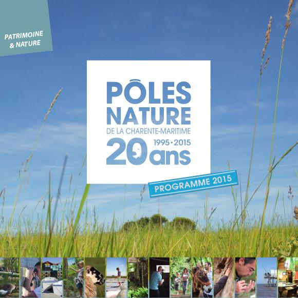 Programme du pôle nature de la Charente-Maritime
