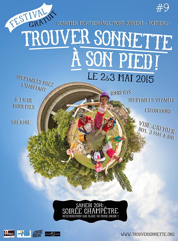 Trouver sonnette à son pieds ! TSP #9 festival gratuit du quartier Montbernage / Pont-Joubert à Poitiers