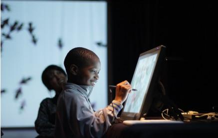 Handicap et création numérique : le dispositif Grapholine à l'IME Pierre Garnier