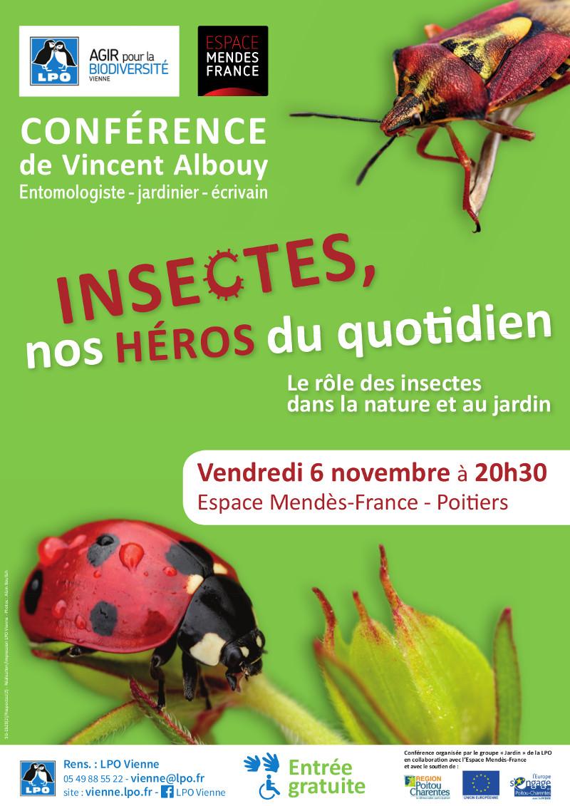 Insectes, nos héros du quotidien. Le rôle des insectes dans la nature et au jardin