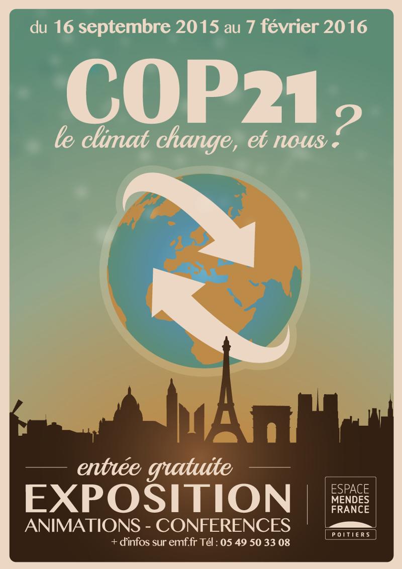 COP 21 – Le climat change. Et nous ?